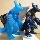 『ウルトラ怪獣X イベント限定 電脳怪獣サイバーゴモラ ユナイトブルーVER. レビューらしきもの』の画像