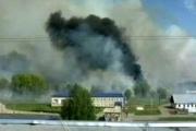 ロシア人がうっかり90000tの爆弾を爆発させ、爆風で吹っ飛んだ爆弾たちが民家50軒を焼失させる