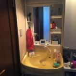 『大阪府岸和田市 洗面化粧台リフォーム -洗面台交換工事-』の画像