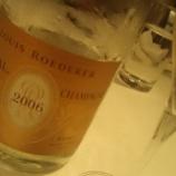 『クリスタル2006-ルイ・ロデエール-【CRISTAL2006/ LOUIS ROEDERER】をテイスティング』の画像