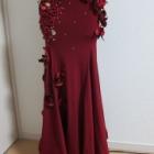 『ベリーダンス衣装 ノースリットのスカートでもスリット、作れます!』の画像