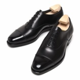 『誂靴 | JOE WORKS JOE-0 CAP TOE  ワインハイマーカーフ BLACK』の画像