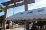 なんだそれは!『だんじりビアガーデン』とな!?私部の住吉神社の盆踊り大会が開催〜お祭り前日の様子はこんな感じ〜