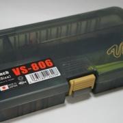メタルジグ・スプーン用のケースに『メイホウ VS-806(ワームタイプ)』を購入