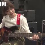 『【乃木坂46】松村沙友理 リハでベースを弾きまくるwwwww』の画像
