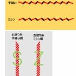『糸の撚りの方向と盆踊りの回転方向の謎』の画像