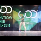 『Fik-Shun | FRONTROW | World of Dance #WODLA '14』の画像