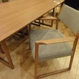 『【北欧テイスト・日進木工の家具2011年】 日進木工のNatural BrownシリーズのLDチェア・NBC-409』の画像