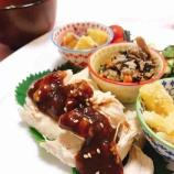 『大棗(なつめ)と生姜と胡桃で薬膳ソースを作りました♪』の画像