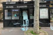 【フランス】「コロナウイルス、出て行け」日本料理レストラン(中国人オーナー)に落書き、ペンキぶちまけ…人種差別のターゲットに