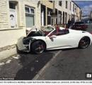 レンタルした3750万円のフェラーリが大破…結婚披露パーティに向かう途中