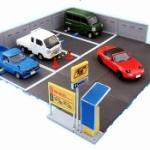 「コインパーキング」がガチャフィギュアになって登場!「1/64 駐車場コレクション」
