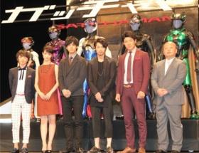映画『ガッチャマン』松坂と綾野が剛力を「普通じゃない!」と絶賛