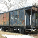 『放置貨車 ワフ35000形ヨ35632』の画像