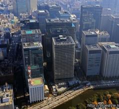 最上部はフォーシーズンズ東京大手町!高さ200m「Otemachi One」の建設状況(2019.12.7)