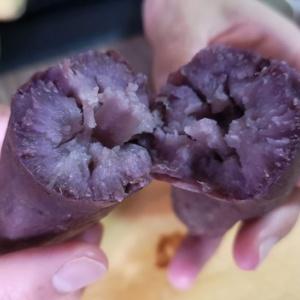 トロットロの仕上がり♪紫芋の焼きいも