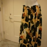 『ottod'Ame(オットダム)ブラッシュプリントロングスカート』の画像