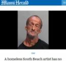 両腕の無いホームレスの男、足に握ったハサミで男性観光客を(刺) し 逮捕される