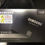 『容量のHDDよりも高速のSSDを使う』の画像