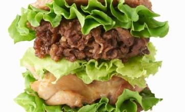 モスからやっばいバーガーが登場wwwww圧倒的肉感wwwwwwww