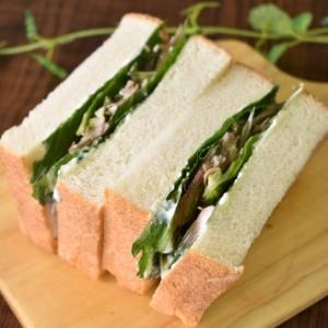 好きな人にはたまらない♪薬味サンドイッチ