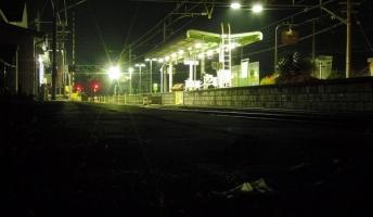 不思議な駅を通過した 『霧島駅』