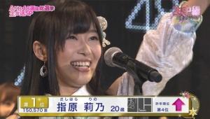 【第8回AKB48選抜総選挙】速報2位の指原莉乃「私はみんなの敵だから仕方ないのかな。。。」