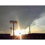 『陽が落ちる』の画像