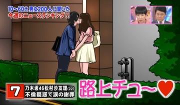 松村の不倫疑惑騒動後に乃木坂46のCM消えてない?