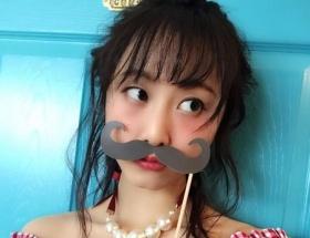 ヒゲの松井玲奈がかわいい
