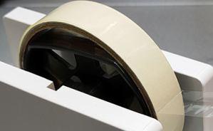 直線で構成されたテープカッター