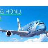『【ANAトラベラーズ】11月のANA FLYING HONUチャーターフライト(成田)の予約開始』の画像