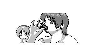 恵方巻きを食べられるお絵描きチャット