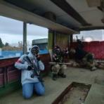 サバゲーチーム 『ペガサス連隊』の救護所