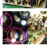 『電源ユニットのコンデンサ交換』の画像
