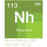 『未知の元素:ウンウントリウムからニホニウムへ』の画像