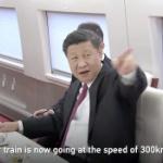 【動画】中国、習近平がプーチンと一緒に高速鉄道で移動!時速300kmを自慢する! [海外]
