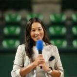 『伊達公子 引退会見 報道陣の人数 ~テニスに出会えてよかった~』の画像
