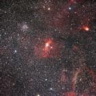 『バブル星雲とM52散開星団』の画像