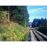 『線路の向こうに』の画像