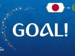 【 速報動画 】日本代表、同点!決めたのは乾!!日本 1-1 セネガル