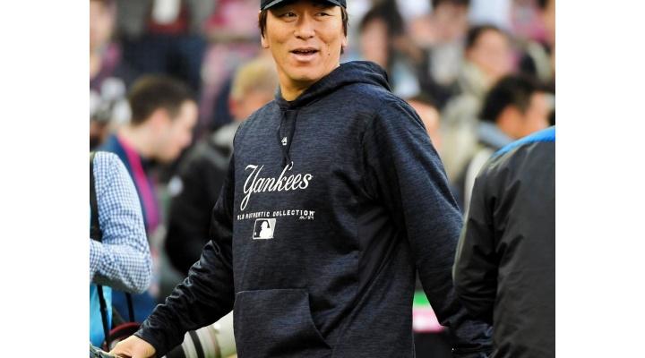 【 動画 】MLB選抜・松井秀喜コーチ、ハイタッチをスルーされる・・・