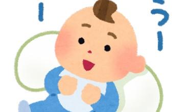 【衝撃】赤ちゃんの横にキャラまくらを置いた結果wwwwwwwwwww