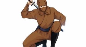 忍者が使った日本刀と鎧