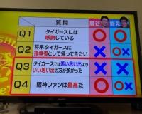 【悲報】Q.阪神のファンは最高?鳥谷「○です!」能見さん「うーん…」
