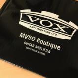 『VOXのニューアンプ MV50 Boutique が届きました!』の画像