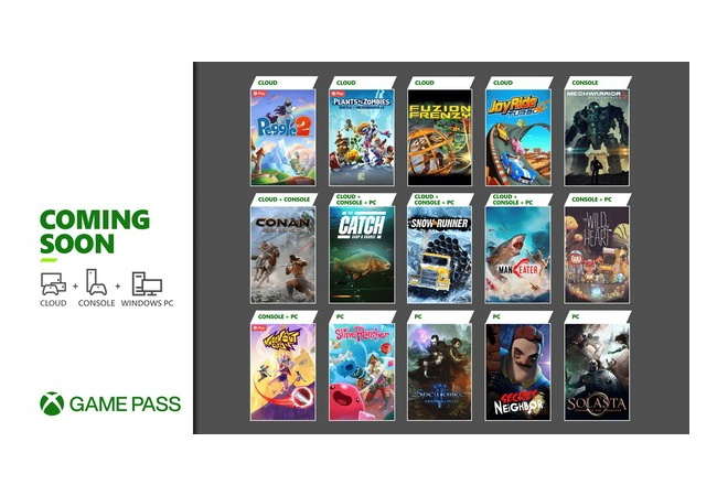 【Xbox Game Pass】2021年5月後半の更新ラインナップが公開