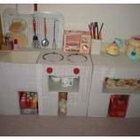 『【パパとママの手作りシリーズ】可愛い手作りままごとキッチンの作り方リンク集 1/2』の画像