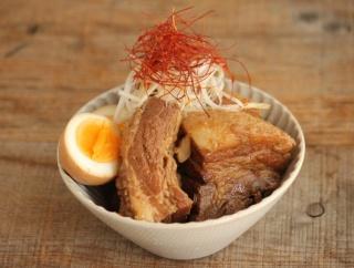 【豚の角煮レシピ】圧力鍋なら30分でトロトロ角煮の完成です