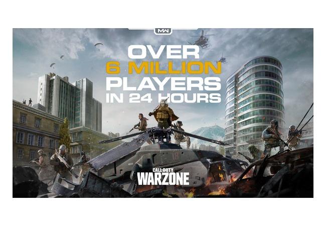 CoD無料バトロワ「Warzone」24時間で600万人遊ぶ。凄すぎワロタwwwwwwww